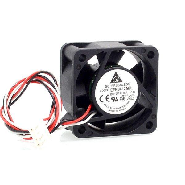Free shipping original Delta 40*40*20mm EFB0412MD-ROO 4020 12V 0.10A 3-wire alarm signal fan