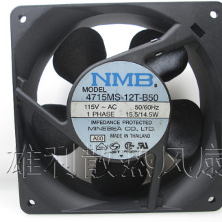 Free Delivery.4715MS-12T-B50 115V AC original Japanese 120 * 120 * 38MM aluminum frame fan