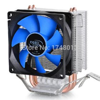 DeepCool 2 heatpipe, for Intel LGA775/1155/1156/1150, for AMD FM1/FM2/AM3+/AM2+, CPU radiator CPU Fan, ice mini Ultimate