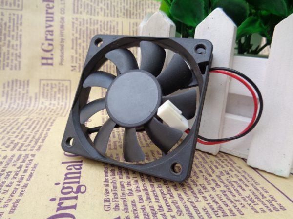 SUNON KDE1206PFV2 DC 12V 2.8W 6010 6cm 60*60*10mm Magnetic Bearing Slim Cooling Fan