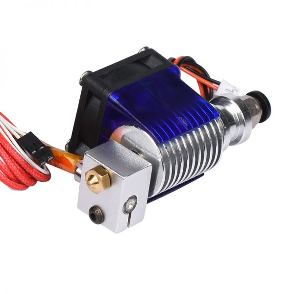 3D V6 3D Printer long distance J-head&Single Cooling Fan for 1.75mm/3.0mm Bowden Filament Wade Extruder 0.3/0.4/0.5mm Nozzle