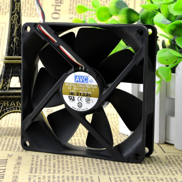 Free Delivery. 9025 24 v 0.3 A 9 cm and 9 cm Inverter chassis cooling fan C9025B24UA