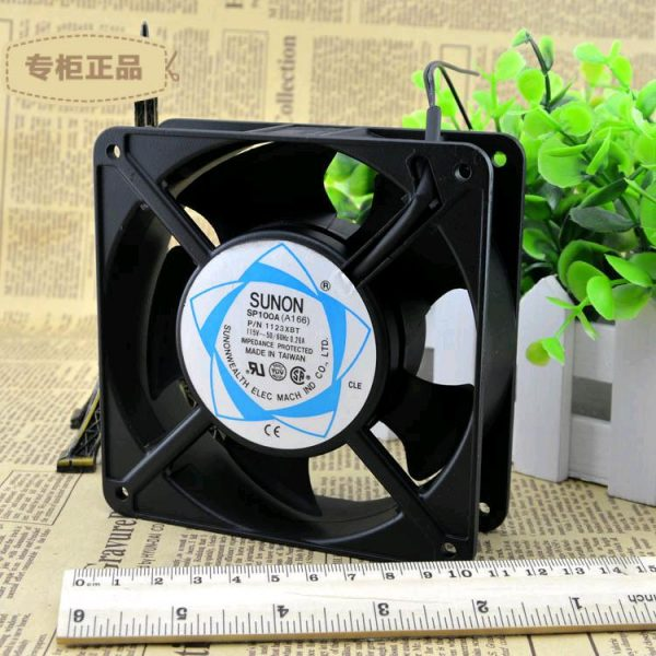 Free Delivery. 12038 SUNON 115 v / 110 v SP100A aluminum frame, double ball bearing fan