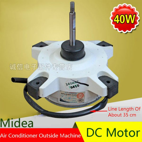 40W Air Conditioning Fan DC Motor Original For Midea Air Conditioning Parts