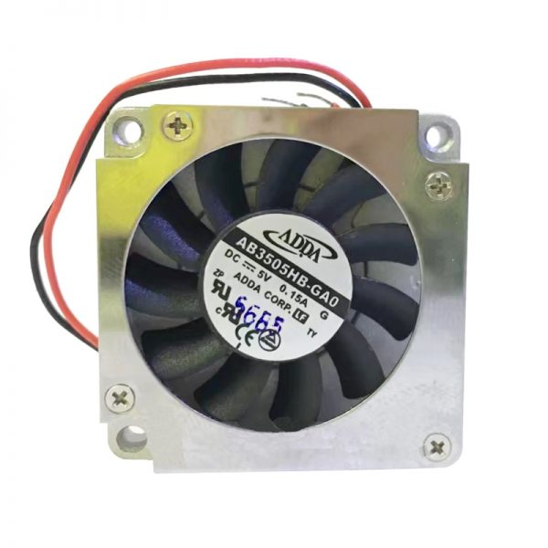 Original ADDA AB3505HB-GA0 35*35*5mm 3.5cm DC 5V 0.14A laptop server inverter cooling fan