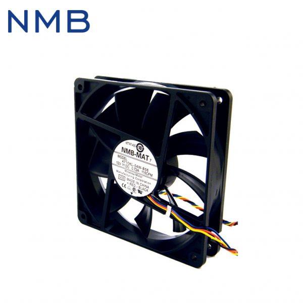 Free shipping NMB Original four-wire thermostat 12v 12cm 0.72A PWM fan 12025 4710KL-04W-B56