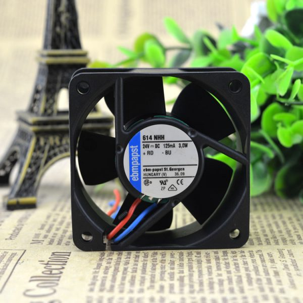 Free Delivery. 614 NHH 24 v, 125 ma 3.0 W * 60 * 60 25 high-end equipment fan