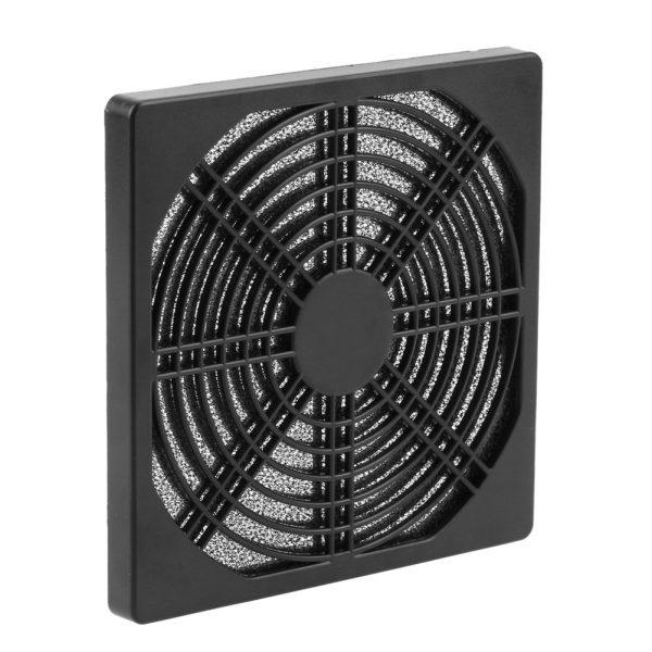 Dustproof 120mm 1pcs/2pcs/5pcs Case Fan Dust Filter Guard Grill Protector Cover Plastic PC Computer Case Cooling Fan Cover Net