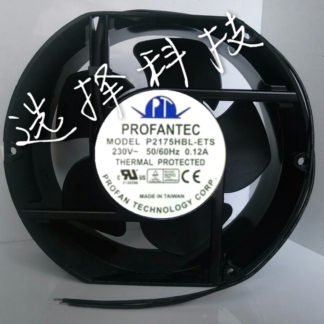 brand new PROFANTEC P2175HBT-ET 230V 0.12A 2-wire 100mm Server Round Cooling fan free shipping