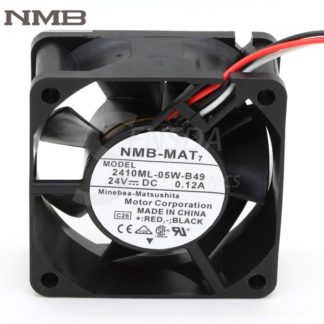 Original NMB 2410ML-05W-B49 6CM 60mm 6025 DC 24V 0.12A axial Cooling Fans