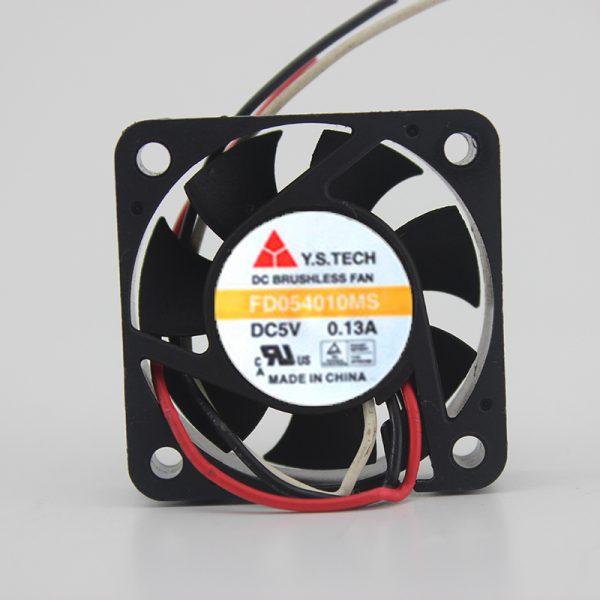Original 4010 FD054010MB 5V 0.13A 2-wire cooling fan 40 * 40 * 10MM.