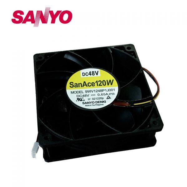Free shipping 9WV1248P1J001 IP55 waterproof cooling fan12038 48V 0.65A 12CM