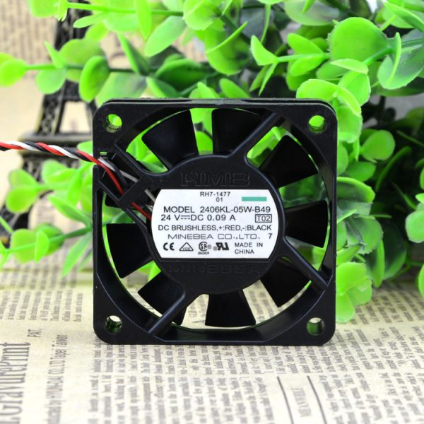Free Delivery. 6015 24 v 0.09 A 6 cm/cm Alarm inverter fan 2406 kl - 05 w - B49