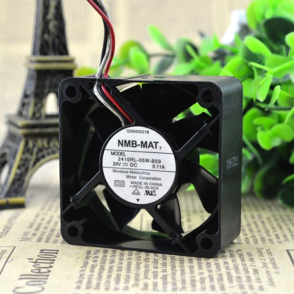 Free delivery. Cooling fan 6025 24V 6cm 6 cm hydraulic double ball inverter fan