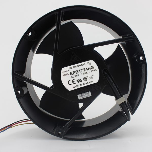 Brand new original EFB1724HG 24V 1A 17251 17CM 3 leaf double ball fan