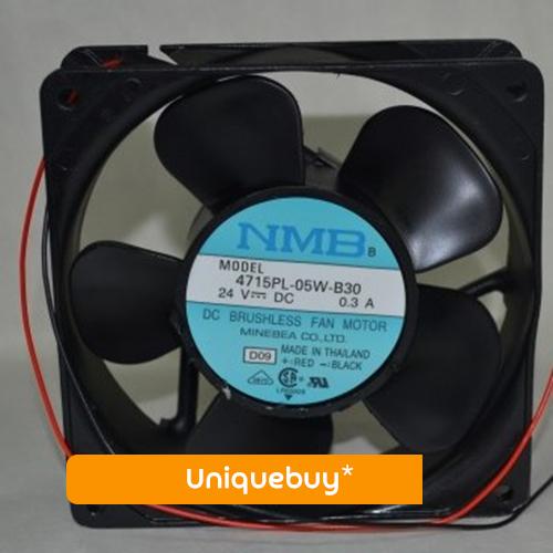 Two Ball Bearing Cabinet fan for NMB 4715PL-05W-B30 24V 0.3A Inverter fan