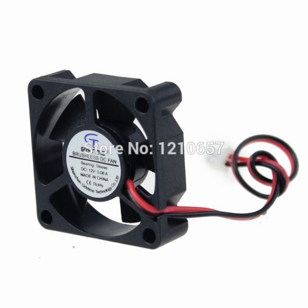 2PCS LOT Gdstime Micro 3510s 35 x 35 x 10mm 35MM 2Pin 12V DC Cooler Cooling Fan