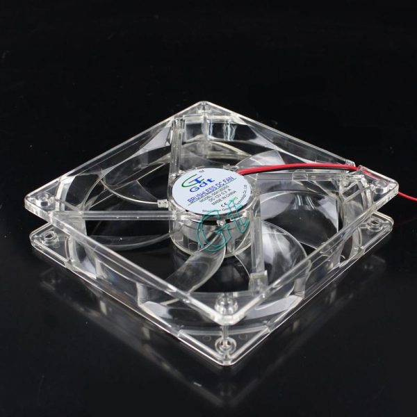 100PCS 12025 LED Light fan DC Computer axial Fan 4pin 12CM 120x120x25mm Free Shipping