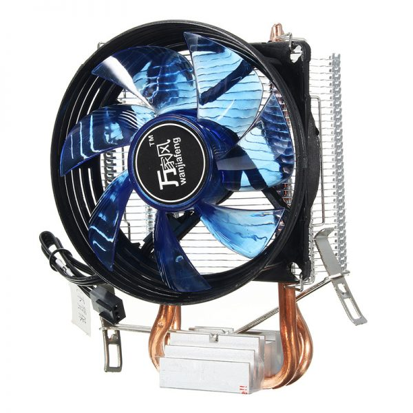 Hot Copper Cooling Fan Core LED CPU Cooler Cooling Fan Quiet Fan Cooler Heatsink for Intel Socket LGA1156/1155/775 AMD AM3