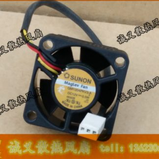 Free Shipping Original Sunon GM1204PKV3-A DC 12V 0.6W 3Wire server inverter axial Cooling Fans