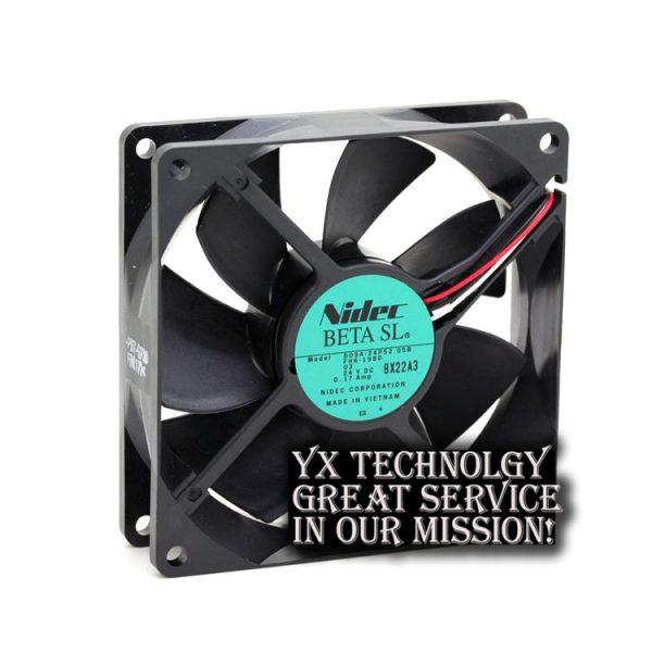 Nidec Original D09A-24PS2 05B 24V 0.17A 9225 elevator inverter cooling fan for NIEDC 92*92*25mm