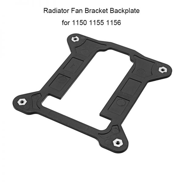 Computer CPU Fan Bracket for Intel 1150 1155 1156 Heatsink Radiator Backplane Motherboard Base Cooling Fan Holder High Quality