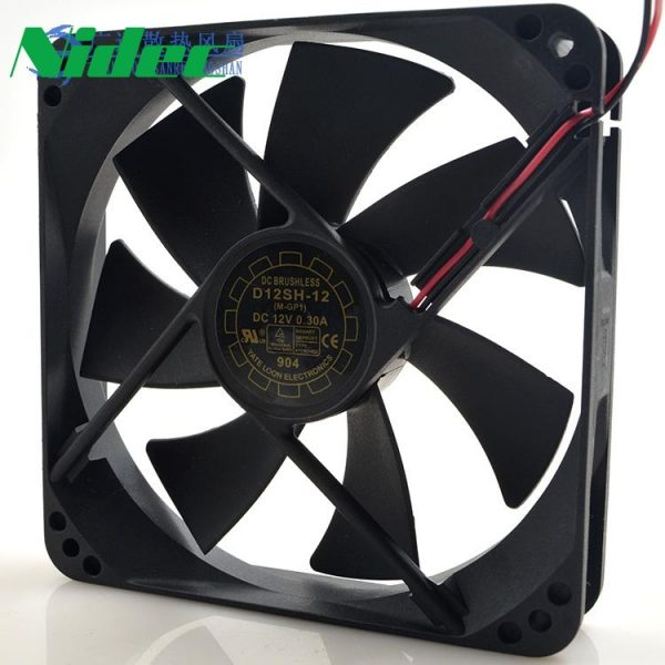 Nidec New D80SH-12 8025 12V 0.18A UPS uninterruptible power supply chassis fan 80*80*25mm