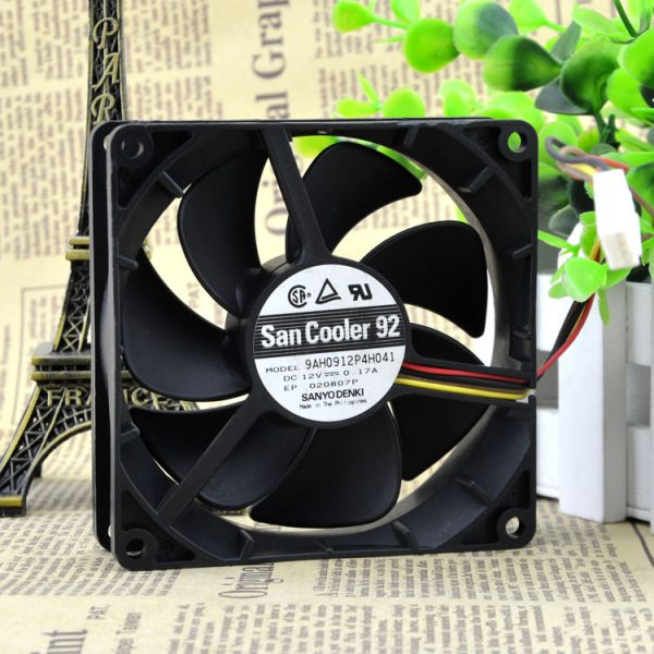 Free Delivery. 9 cm9225 12 where v0. 17 a 9 ah0912p4h041 4 needle PWM ultra-quiet fan