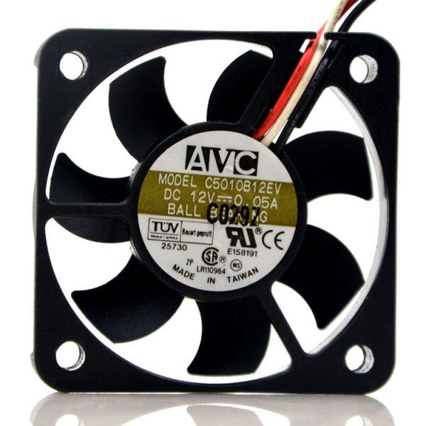 New original 5CM 5 cm 5010 12V 0.08A ultra-thin ultra-quiet CPU fan C5010B12EV