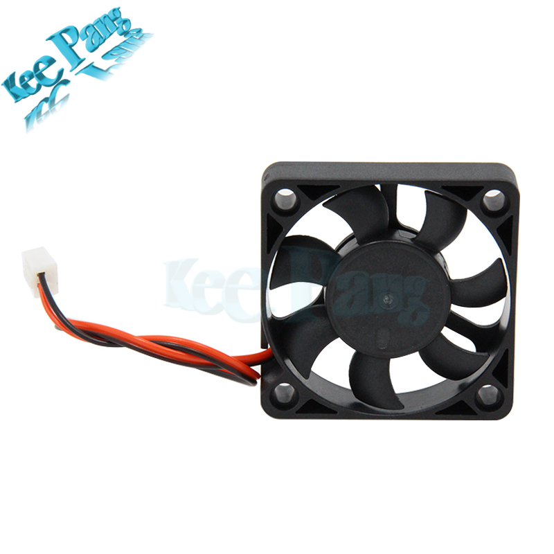 5010 Cooling Fan 12V 50mm Cool 3D Printers Parts 2 pin Brushless 5CM DC  Fans Cooler Radiator Part 50*50*11 5 mm Quiet Accessory
