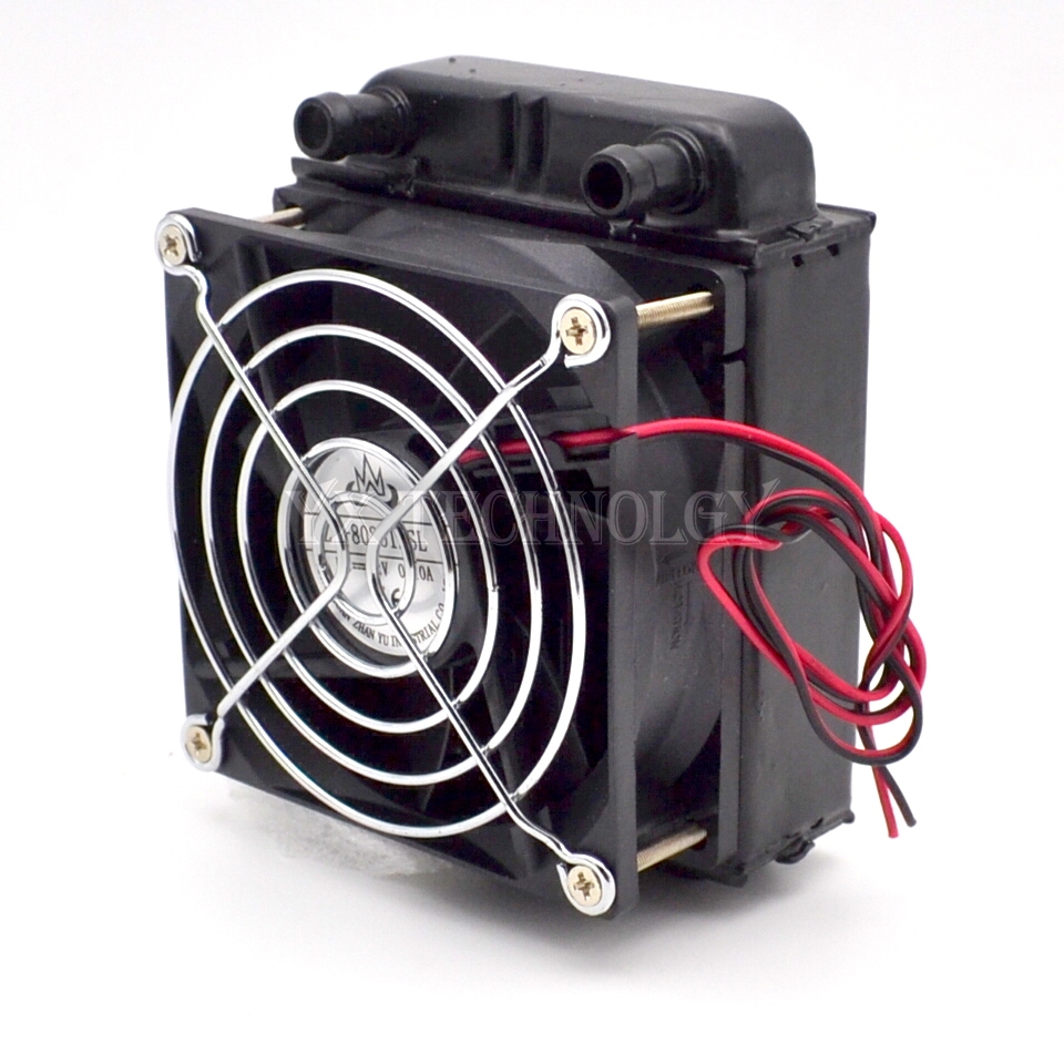 SZYTF 80mm Radiator computer CPU cooling water cooler radiator fan ...
