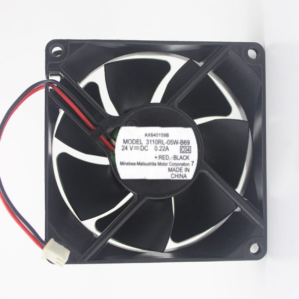 Original 3110RL-05W-B69 DC 24V 0.22A Ricoh FX150SF Printer Fan