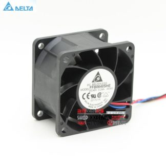 Original Delta FFB0648SHE 6038 6cm 48V 0.24 dual ball bearing cooling fan