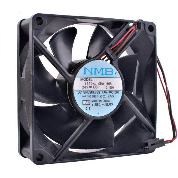 COOLING REVOLUTION 3110KL-05W-B68 8cm 80mm fan 8025 24V 0.18A Double ball bearing mute inverter industrial computer cooling fan