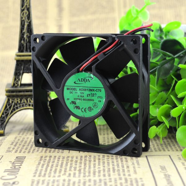Free Delivery. AD0812MX - C70 8020 12 v 0.16 A power supply fan cabinet fan