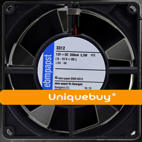 Silent Germany ebm minimum fan 2508 typ 255 / 2h 5v 0.12A 2.5cm 3 lines