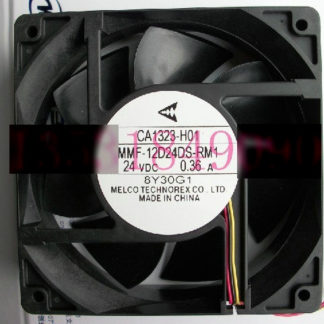 New Original Nidec Inverter fan for Mitsubishi A540 CA1323H11 MMF-12D24DS-RM1 24V 0.36A 120*120*38MM