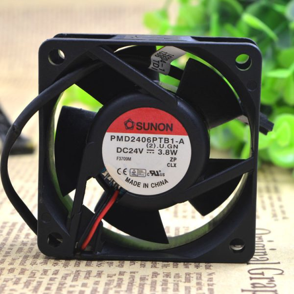 Free Delivery.PMD2406PTB1 - A 24 v 3.8 W 6 cm 6025 inverter fan