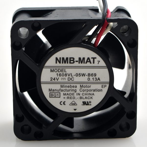 New original 4CM 4020 1608VL-05W-B69 24V 0.13A CNC machine tools FANUC cooling fan