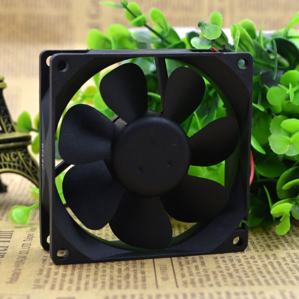 Free Delivery. 8025 12 v 0.08 A 8 cm ultra-quiet power supply computer case fan DFB0812L 2 line