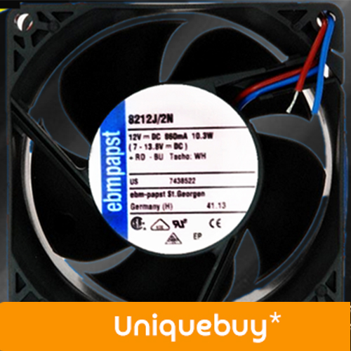 For EBMPAPST 12V 8212J/2N 10.3W High end cooling fan