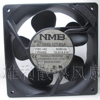 Free delivery.12038 115V 4715MS-12T-B5A 15.5W axial flow cooling fan