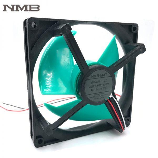 NMB FBA12J15V original 15V 0.28A refrigerator cooling fan