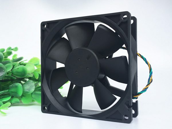 Original DELTA AUB0912VH 9025 DC 12V 0.60A 90*90*25MM 4-wire PWM Speed Temperature Control Cooling Fan