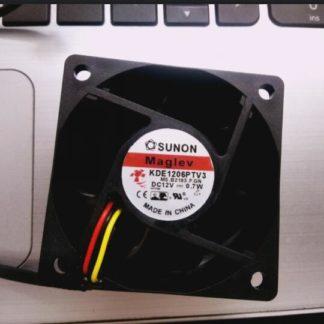 SUNON KDE1206PTV3 6025 12V 0.7W three line speed measuring ultra quiet cooling fan