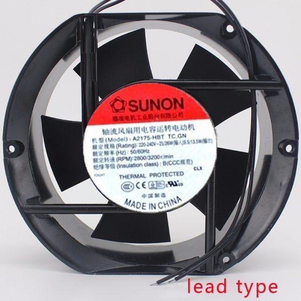 Sunon A2175 HBT 230V AC 50 60Hz 171x151x51mm 17CM 17251 Cooling Fan