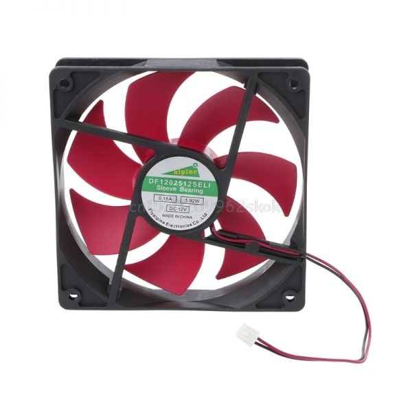 12025 120mm DC12V 0.2A 2.5 2pin server inverter case axial cooler industrial fan D23 Dropshipping
