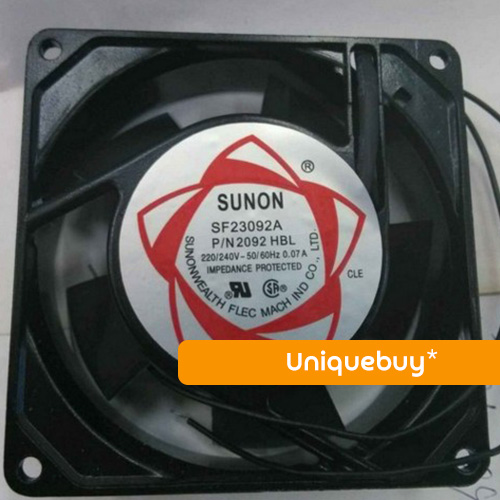 SF9225AT 2092HBL 110V/220V/380V For Sunon Chassis cabinet cooling fan 90*90*25mm