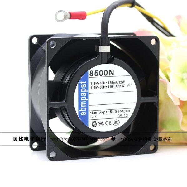 8500N 8CM 8038 115V 11 / 12W metal high temperature cooling fan