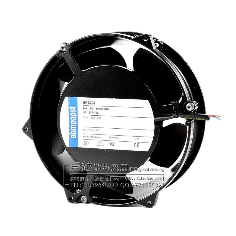 New original DV6224R DC24V 39W ABB inverter cooling fan axial fan